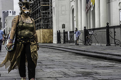 Photograph - Foxy Lady, New Orleans, Louisiana by Chris Coffee