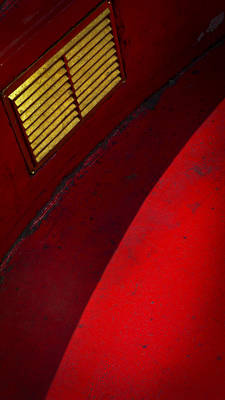 Red Abstracts Photograph - Foxy by Skip Hunt
