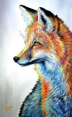 Painting - Foxy by Teshia Art