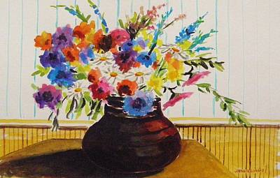 Painting - Foyer Table by John Williams
