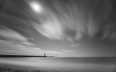 Photograph - Foz Lighthouses by Bruno Rosa