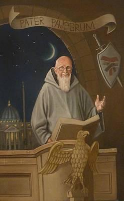 Fr. Benedict Art Print