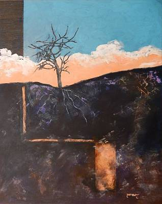 Painting - Fracking by Sue Furrow