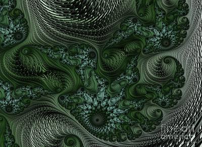 Digital Art - Fractabeast Migration 2 by Elizabeth McTaggart
