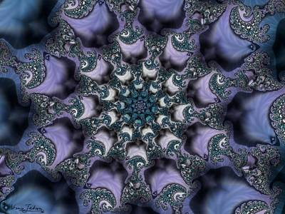Keith Richards - Fractal 1 by Veronica Jackson