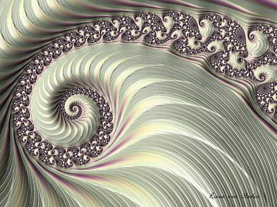 Digital Art - Fractal 17  by Riana Van Staden