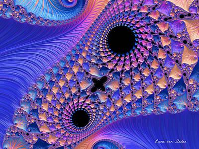 Digital Art - Fractal 2 by Riana Van Staden