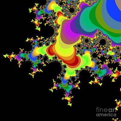 Halley Digital Art - Fractal 32 by Brian Flannery