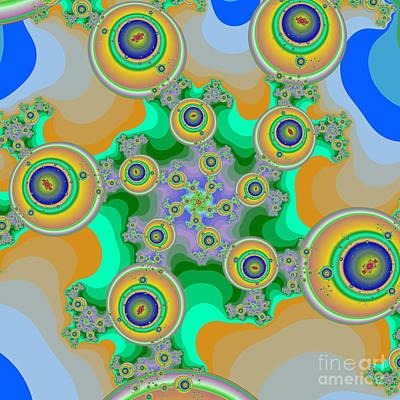 Halley Digital Art - Fractal 92 by Brian Flannery