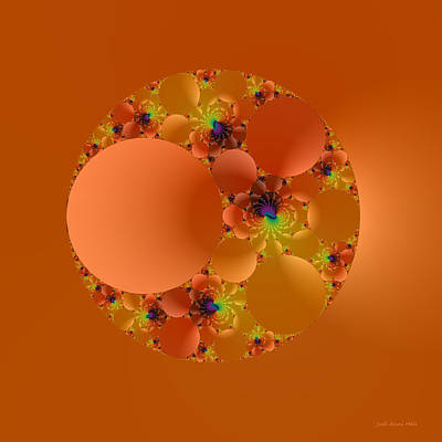 Digital Art - Fractal 99 by Judi Suni Hall