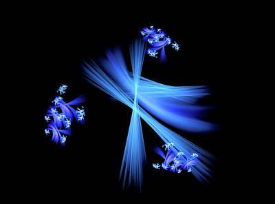 Digital Art - Fractal Bloom by Michael Alfons