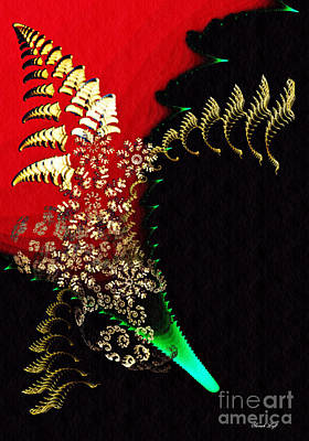 Digital Art - Fractal Bouquet by Sarah Loft