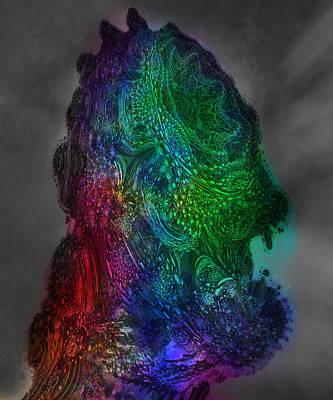Digital Art - Fractal Child by Fractal Hunter