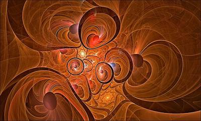 Digital Art - Fractal Circus by Doug Morgan