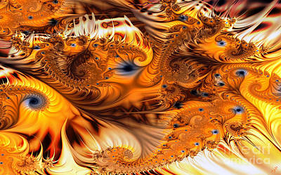Digital Art - Fractal Citrus by Ron Bissett