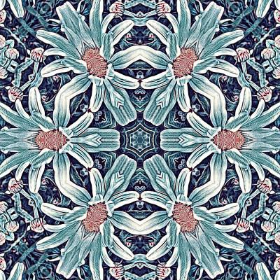 Digital Art - Fractal Daisy by Artful Oasis