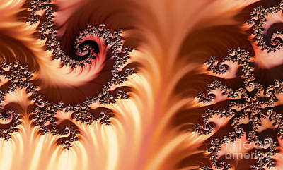 Digital Art - Fractal Desert by Clayton Bruster
