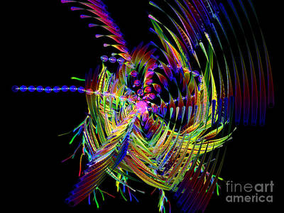 Digital Art - Fractal Folly by Jeff Kolker