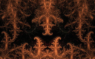 Digital Art - Fractal Foundations by GJ Blackman