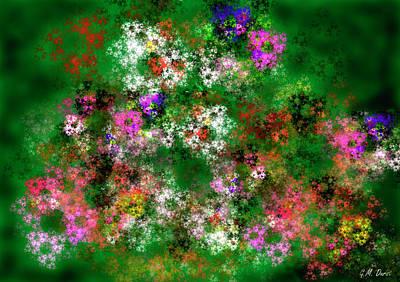 Fractal Garden Original by Michael Durst