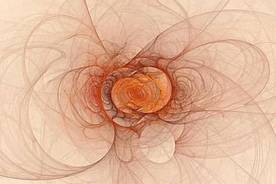 Digital Art - Fractal Music by Doug Morgan