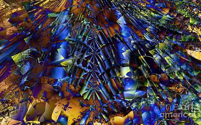 Digital Art - Fractal Of The Day by Ron Bissett