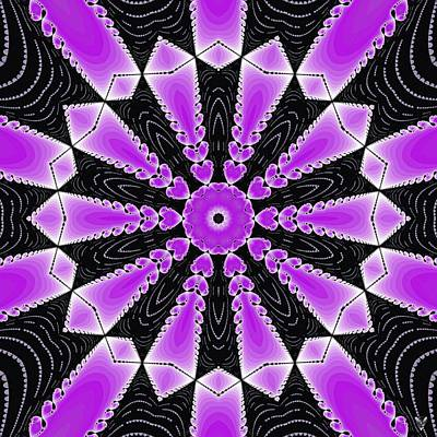 Digital Art - Fractal Pulsar by Derek Gedney