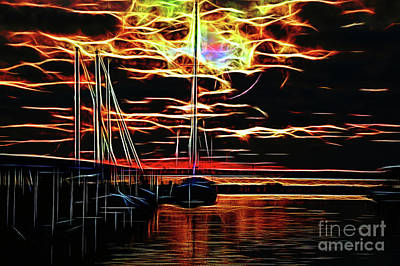 Photograph - Fractal Shine by Diana Mary Sharpton