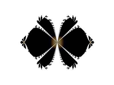 Digital Art - Fractal Star 2 by Nancy Pauling