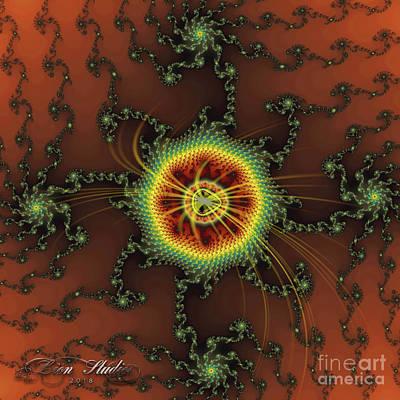 Digital Art - Fractal Swirls by Melissa Messick
