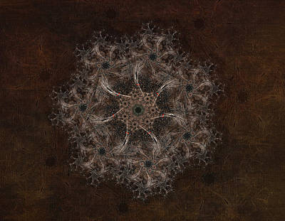 Fractal Tapestry Art Print by AGeekonaBike Fine