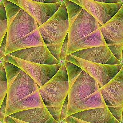 Fractal Veils Print by David Zydd