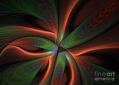 Fractal Warp Mode Art Print