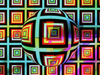 Digital Art - Fractalicious by Mario Carini