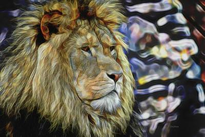 Animals Photograph - Fractalius King by Ericamaxine Price