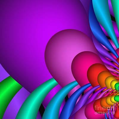 Digital Art - Fractalized Colors -1- by Issabild -