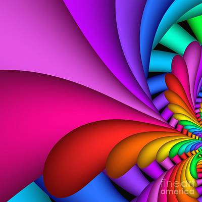 Digital Art - Fractalized Colors -2- by Issabild -