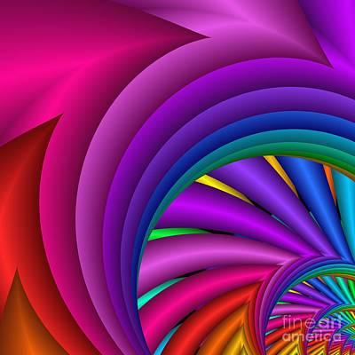 Digital Art - Fractalized Colors -3- by Issabild -