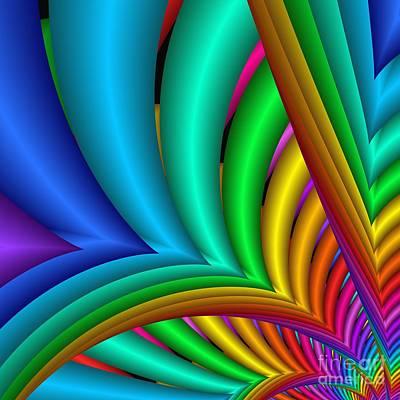 Digital Art - Fractalized Colors -4- by Issabild -