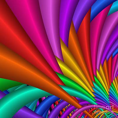 Digital Art - Fractalized Colors -7- by Issabild -