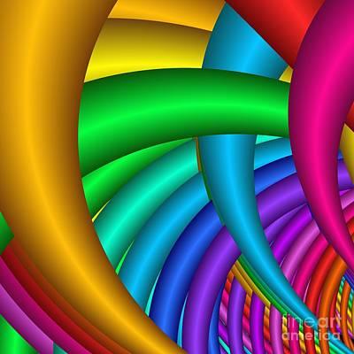Digital Art - Fractalized Colors -9- by Issabild -