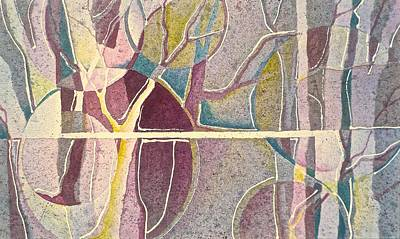 Painting - Fractured by Carolyn Rosenberger