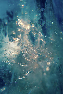 Photograph - Fractured Crystal by Jeanette Fellows