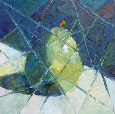 Painting - Fractured D'anjou by Susan Woodward