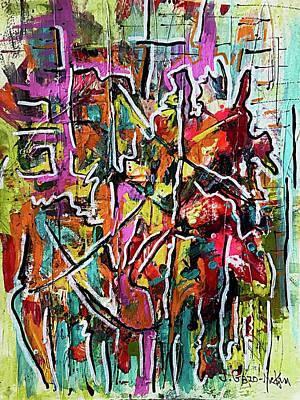 Painting - Fractured Rhythm 1 by Jo-Anne Gazo-McKim