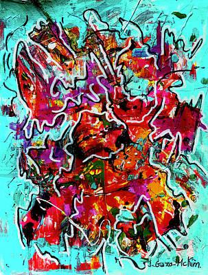 Painting - Fractured Rhythm 2 by Jo-Anne Gazo-McKim