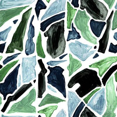 Digital Art - Fractured Rock by Marni Stuart