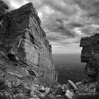 Photograph - Fractured Rocks At The The Chasms by Paul Davenport