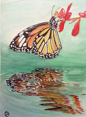 Painting - Fragile Reflection by Annie Poitras