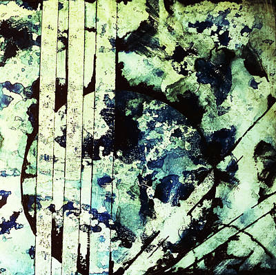 Non Objective Mixed Media - Fragility by James Pinkerton